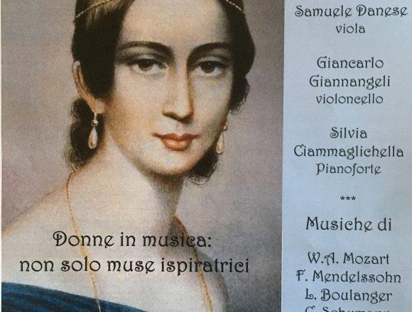 Donne in musica : non solo muse ispiratrici