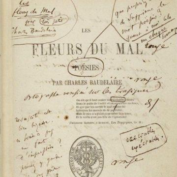 Non solo fiori del male. Quello che Baudelaire dice ai giovani 200 anni dopo …..